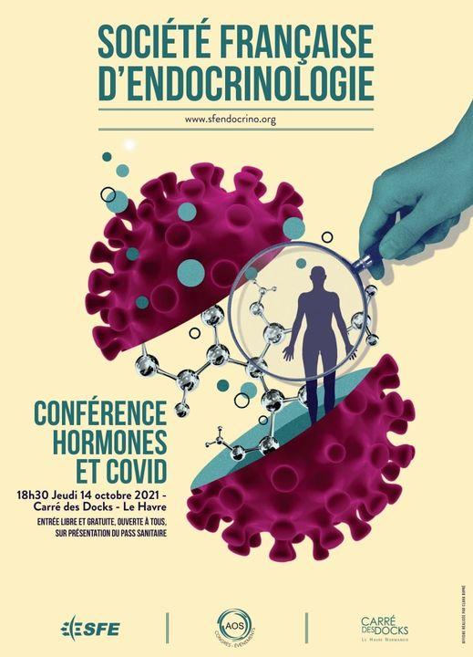 Conférence Hormones et COVID au Havre